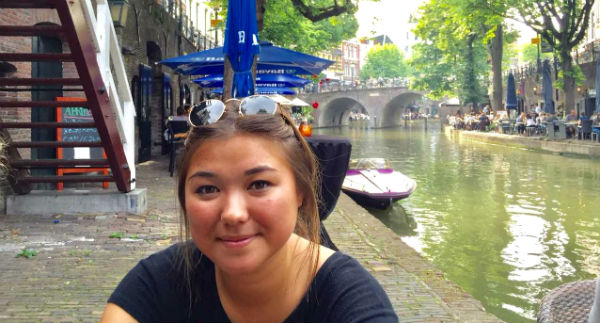 Linguistics Major Discovers How Far She Can Go with Internship Abroad